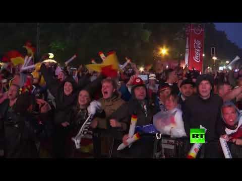 فرحة المشجعين الألمان الهستيرية بهدف توني كروس  - نشر قبل 6 ساعة