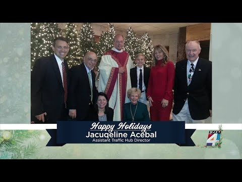Happy holidays from the staff of WJXT/WCWJ