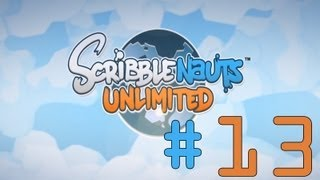Scribblenauts Unlimited - Ep.13 - Dusty Brush Canyon, Underscore Mine, & Camelcase Oasis