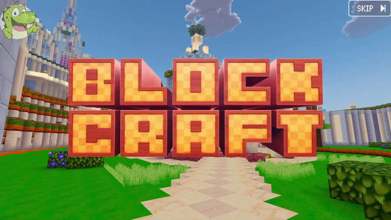 Crocodile gaming block craft 3d building game youtube for Block craft 3d online play