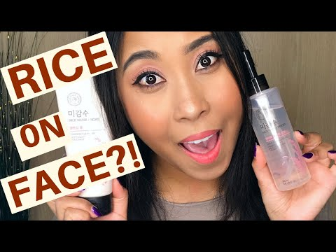the-face-shop-rice-water-bright-cleansing-foam-&-rice-water-cleansing-oil-review