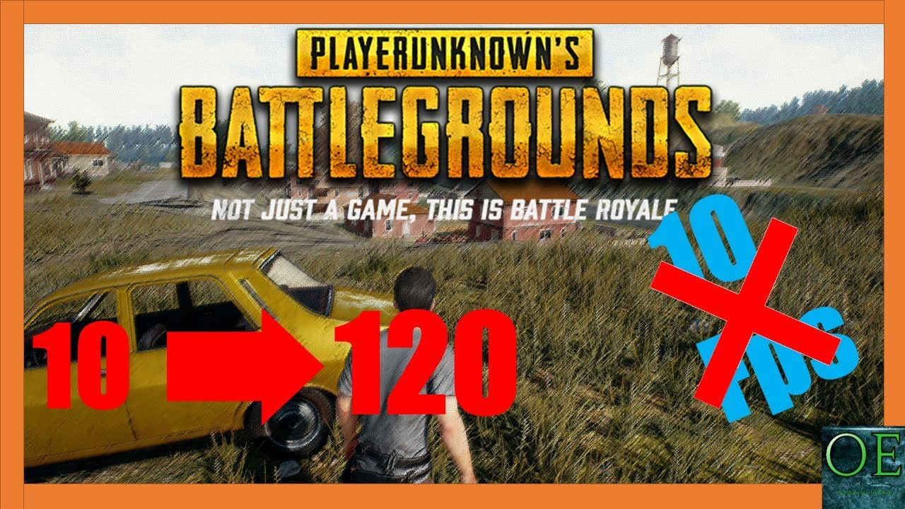 Playerunknown S Battlegrounds Maps Loot Maps Pictures: HOW TO DOUBLE YOUR FPS ON *PLAYERUNKNOWNS BATTLEGROUNDS