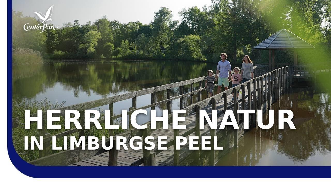Center Parcs Limburgse Peel - Familienurlaub im Ferienhaus am Wasser!