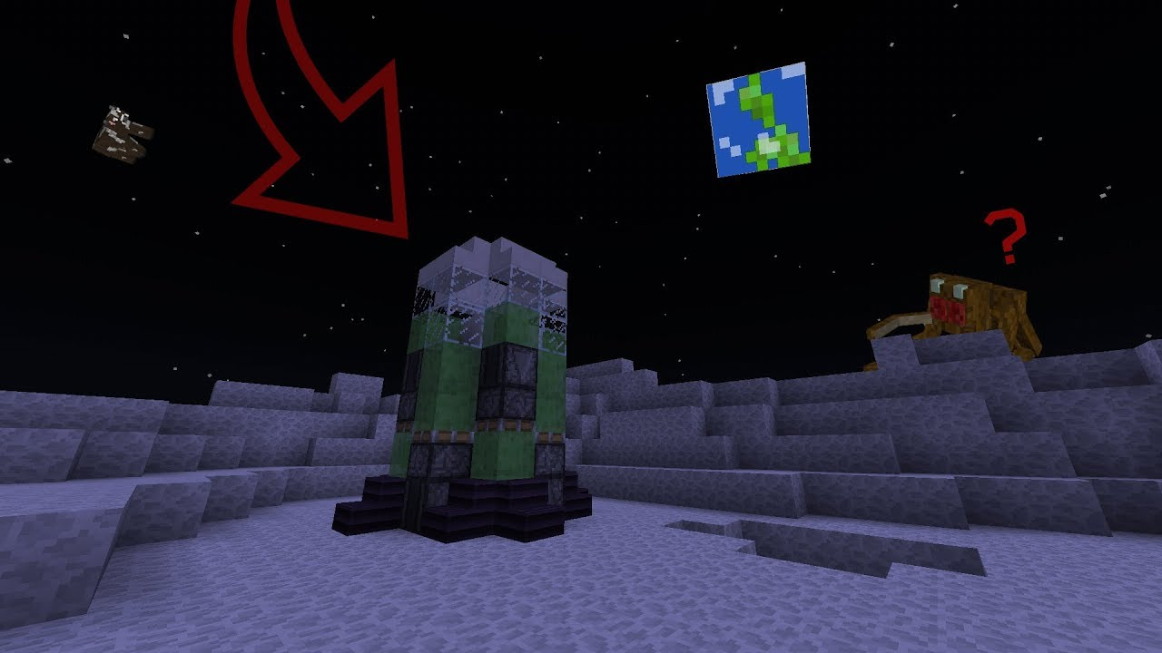 Как сделать ракету на луну