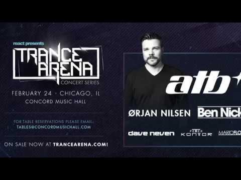 ATB - Live!!  Trance Arena -  Chicago - 24 February 2017