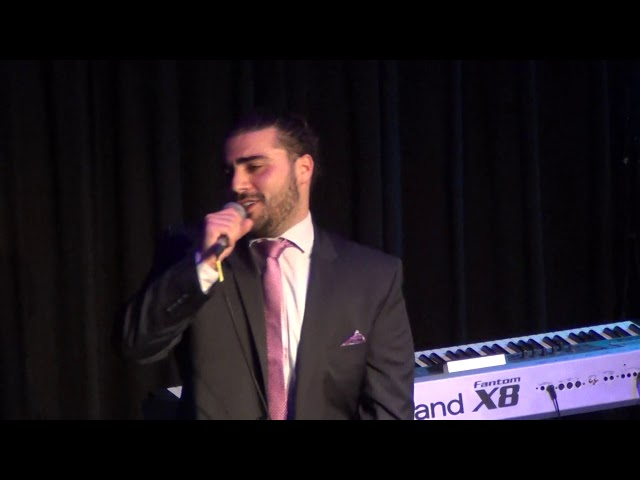 Bruno Arena - singing NewYork with kingsley Berry on Piano - Guest appearance for our charity show