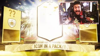 OMG I PACKED AN ICON!! 100 PLAYER PICK PACKS!! FIFA 20