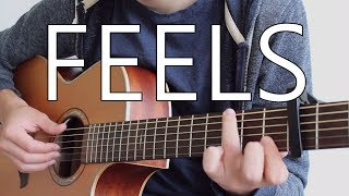 Feels - Calvin Harris ft. Pharrell Williams, Katy Perry (Fingerstyle Guitar Cover)