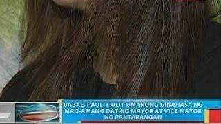 Babae, paulit-ulit umanong ginahasa ng mag-amang dating mayor at vice mayor ng Pantabanga