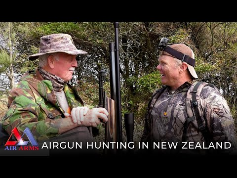 Airgun Hunting In New Zealand With Richard Leonard