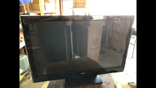 Scrapping a Flat Panel TV for Metal and Dust Bunnies! REBOOT  -Moose Scrapper #286