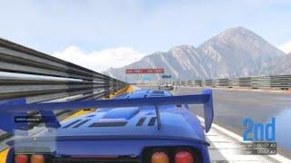 Grand Theft Auto V - undertaking Rupert when he crash his car