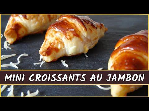 recette-des-mini-croissants-au-jambon