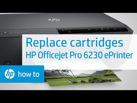 Replace Cartridges | HP Officejet Pro 6230 ePrinter | HP