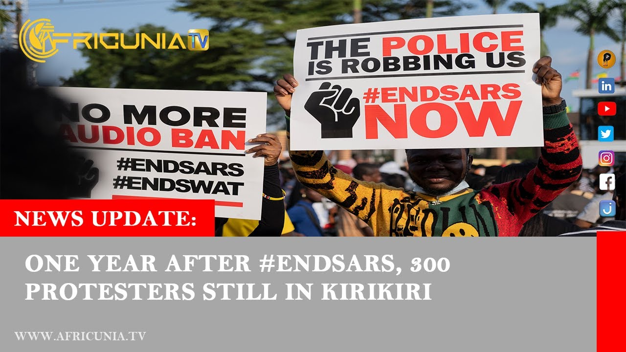 EndSARS protest movement; Protest in Sudan's capital; Flood in South India; Wembley stadium