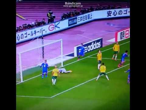 日本vsオーストラリア ハイライト 岡崎2点目 2014/11/18 Japan vs Australia highlights