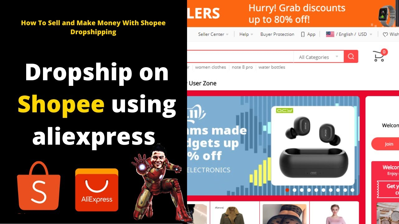 Dropship on shopee using aliexpress- How To Sell and Make Money With Shopee Dropshipping