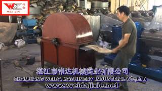 Vedio For Sisal Fiber Brushing Machine/Combing Machine