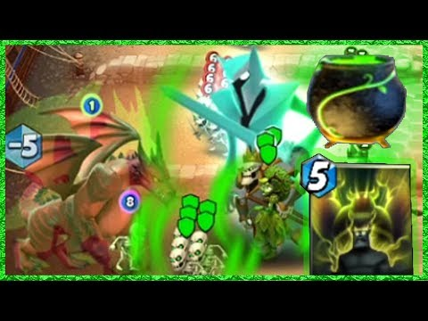 Castle Crush Nature Heal Boosting Giant Dragons!