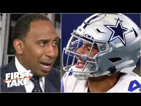 Stephen A. avoided social media after the Cowboys' win, rips Falcons for blown lead | First Take