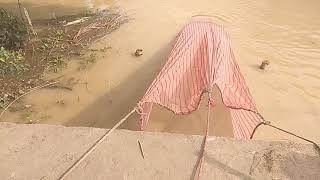 बाढ़ के पानी में मछली पकड़ने के तरीका