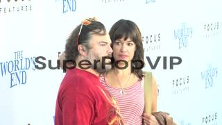 Jack Black, Tanya Haden at The World