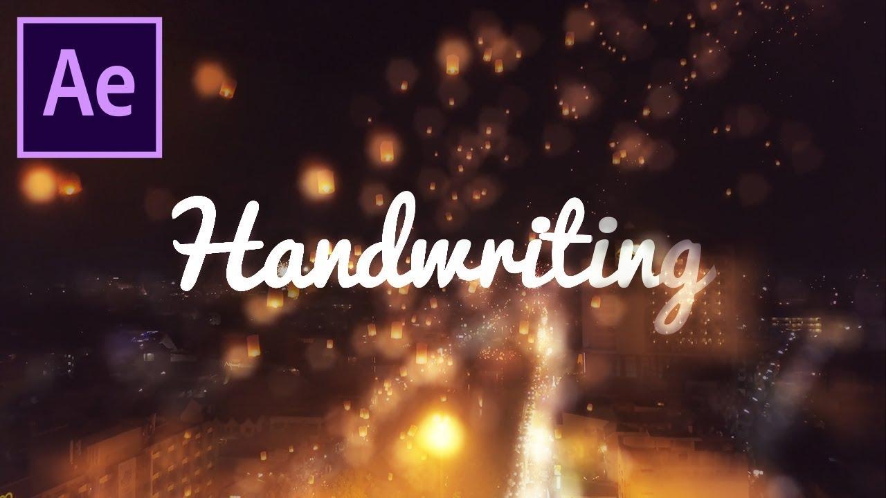Write! - Animated handwriting
