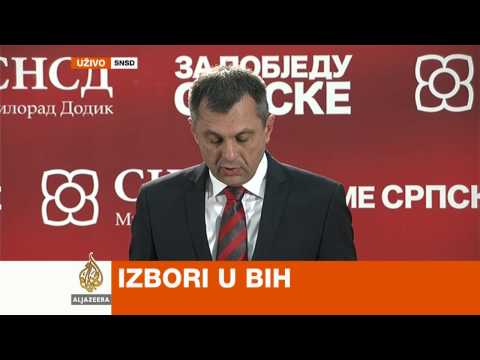 Igor Radojičić na press konferenciji SNSD-a