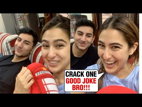 Sara Ali Khan With Brother Ibrahim Share A Funny Video | MUST WATCH Mp3