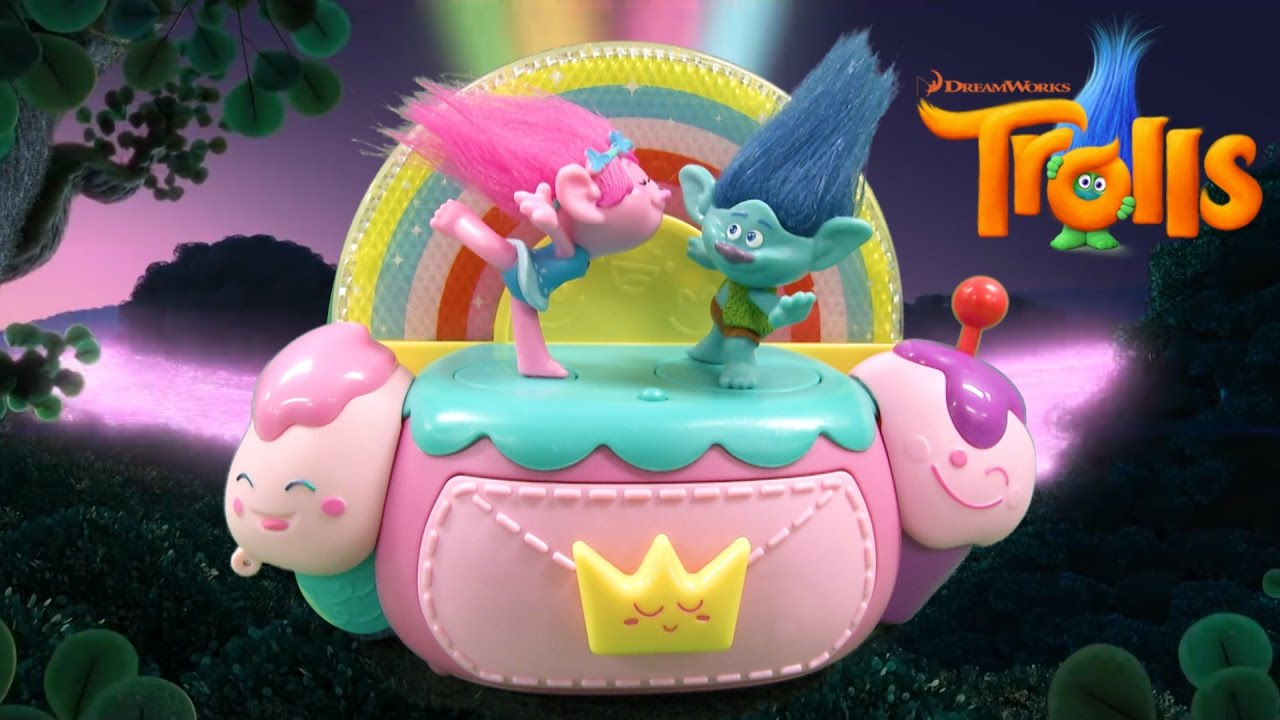 Trolls Dance Hug Sing Jewelry Box from Just Play YouTube