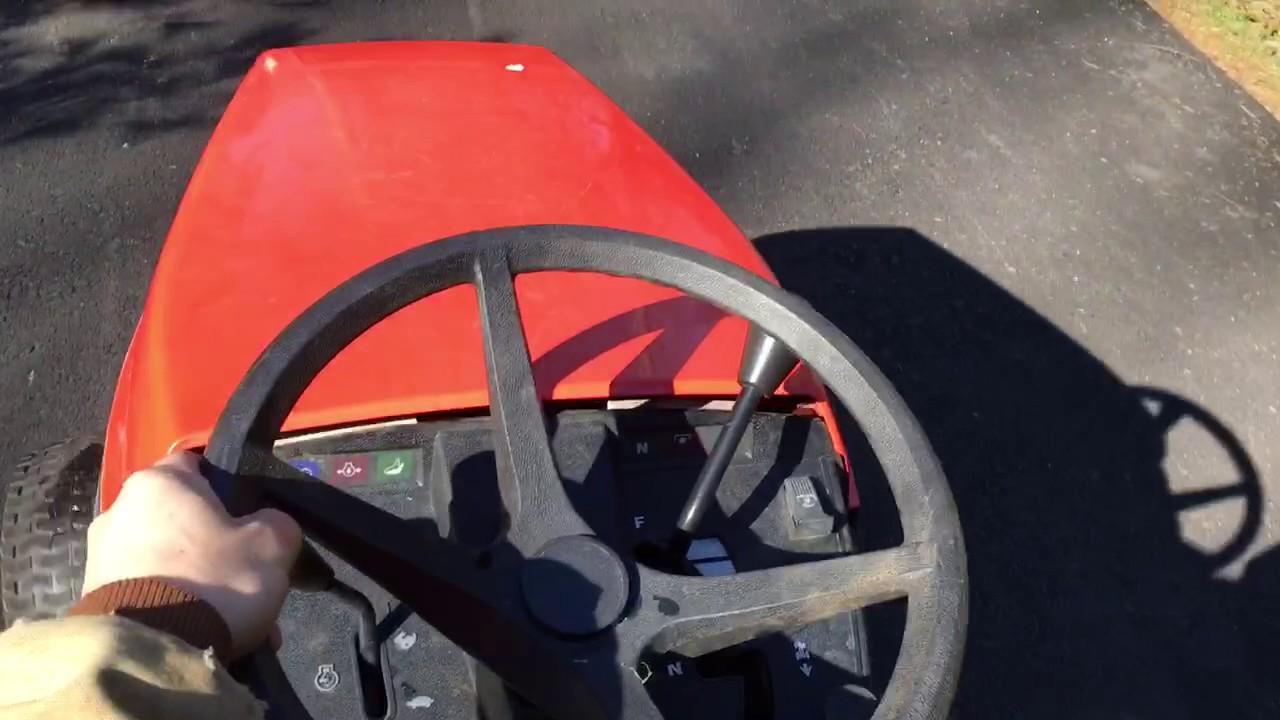 Simplicity 12 5lth Hydrostatic Lawn Tractor
