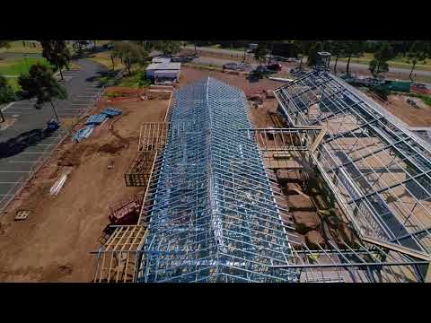 Taking to the Skies – Cold Formed Steel Wall & Roof Truss Framing for Werribee Meeting House