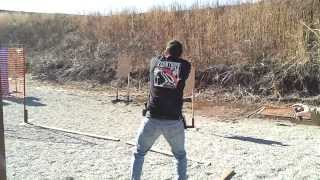 Luis Stage 1 USPSA Ponca City OK 1-11-14