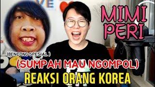 ORANG KOREA NGAKAK NGOMPOL MENONTON MIMI PERI