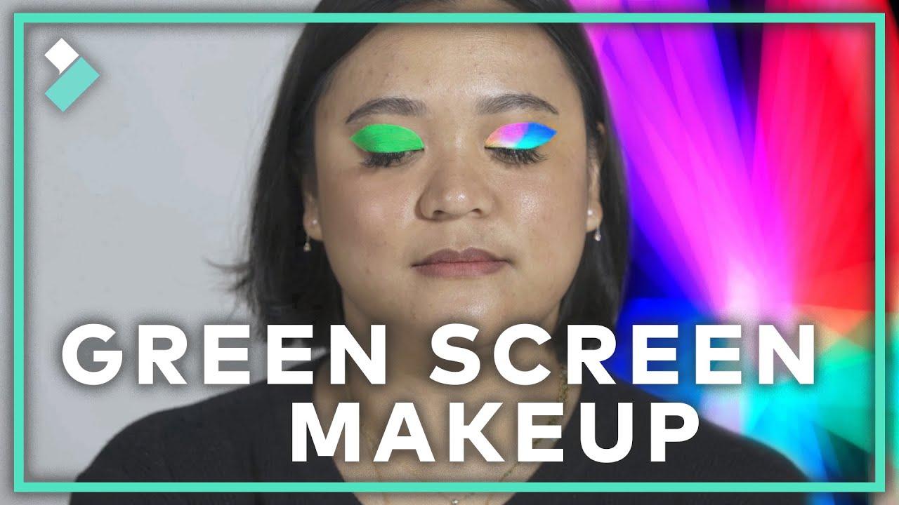 FUN Green Screen Makeup Trick | Filmora9