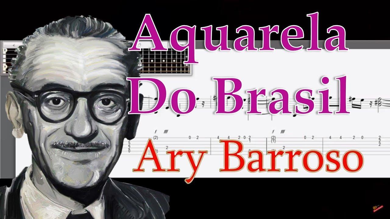 Aquarela Do Brasil Tabs Ary Barroso Descargar Guitar Tabs