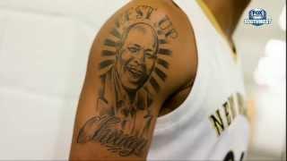 Pelicans Insider: Anthony Davis' new tattoos