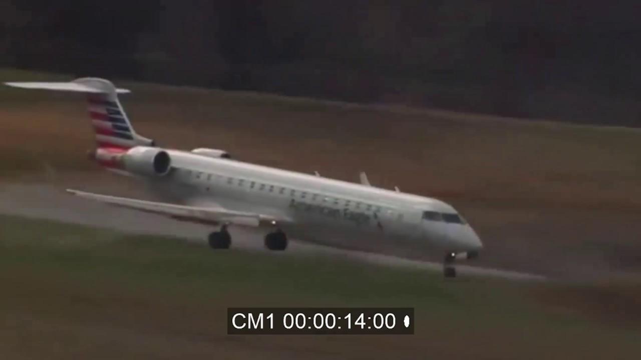 Plane Hits Deer At Charlotte 2 15 2017 Real Atc Recording Youtube