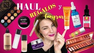 REGALOS y COMPRAS. Novedades cosmética y haul maquillaje