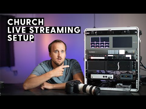 Portable Live Streaming Setup For Churches