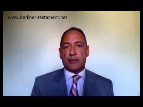 berliner testament muster gratis vorlage - Testament Muster
