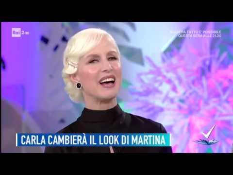 Carla Gozzi - Il cambio look di Martina - Detto Fatto 11 ...