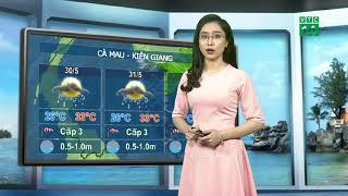 VTC14   Thời tiết biển ngày 29/05/2018   Nam biển Đông có mưa cục bộ