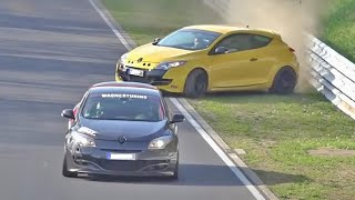 NÜRBURGRING Best Moments 2017 CRASHES, FAIL WIN Compilation, Epic Situations Touristenfahrten