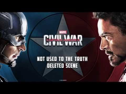 Marvel's Captain America: Civil War | Not Used to the Truth Deleted Scene|