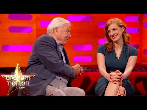 Sir David Attenborough Hits On Jessica Chastain  The Graham Norton
