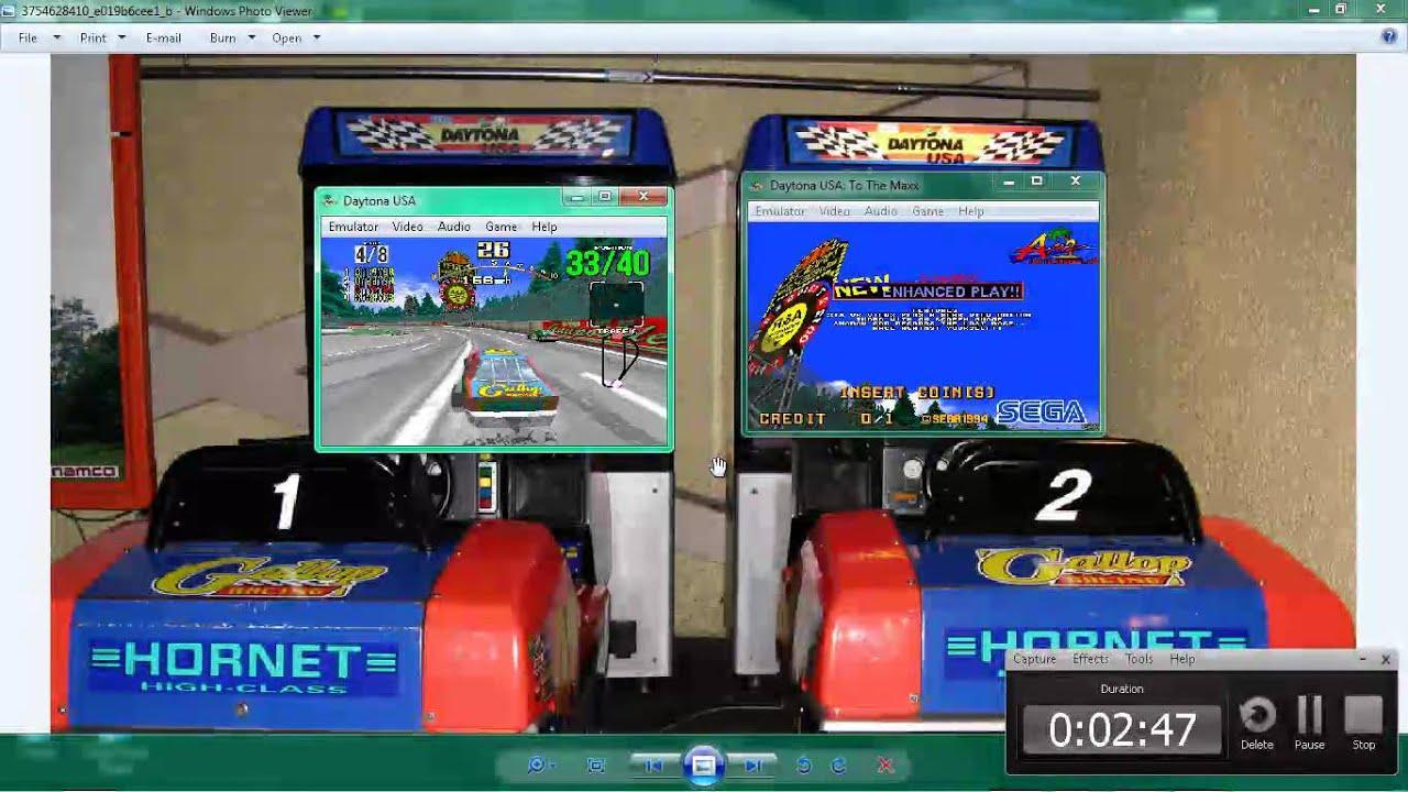 Daytona Usa Dual Play On Cabinets :L