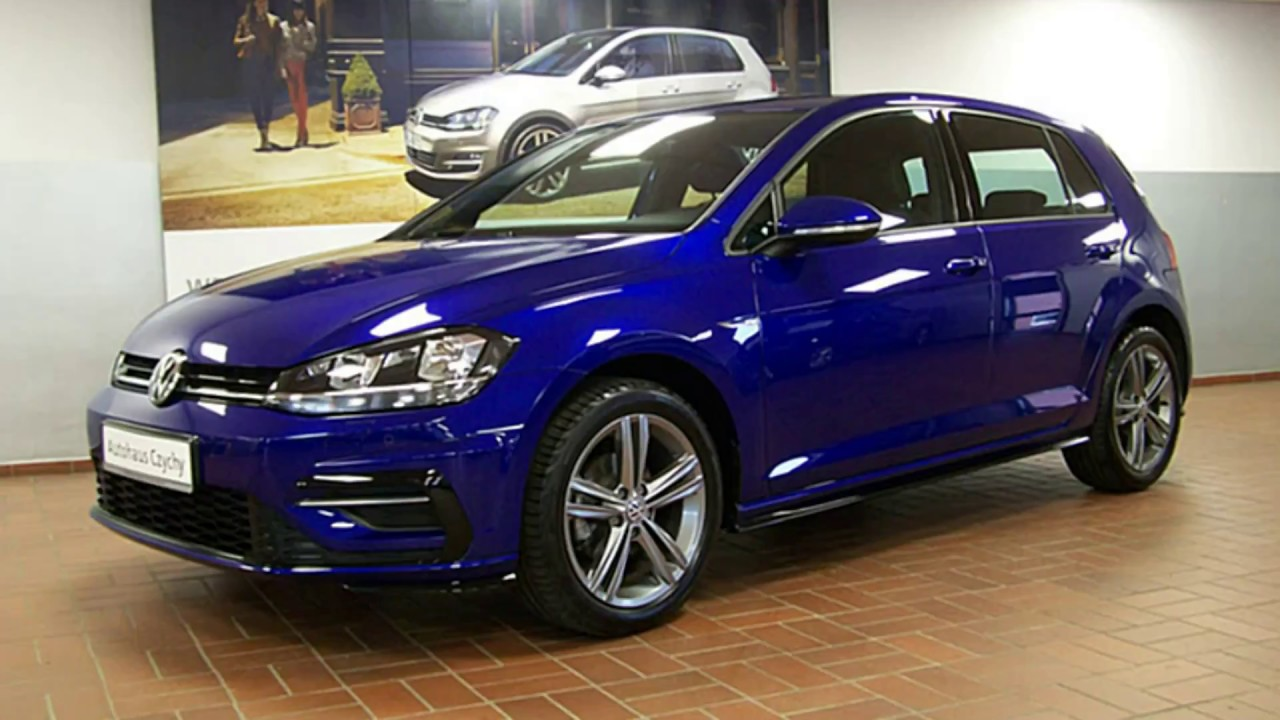 volkswagen golf vii 1 0 tsi r line jw052465 lapiz blue autohaus czychy youtube. Black Bedroom Furniture Sets. Home Design Ideas