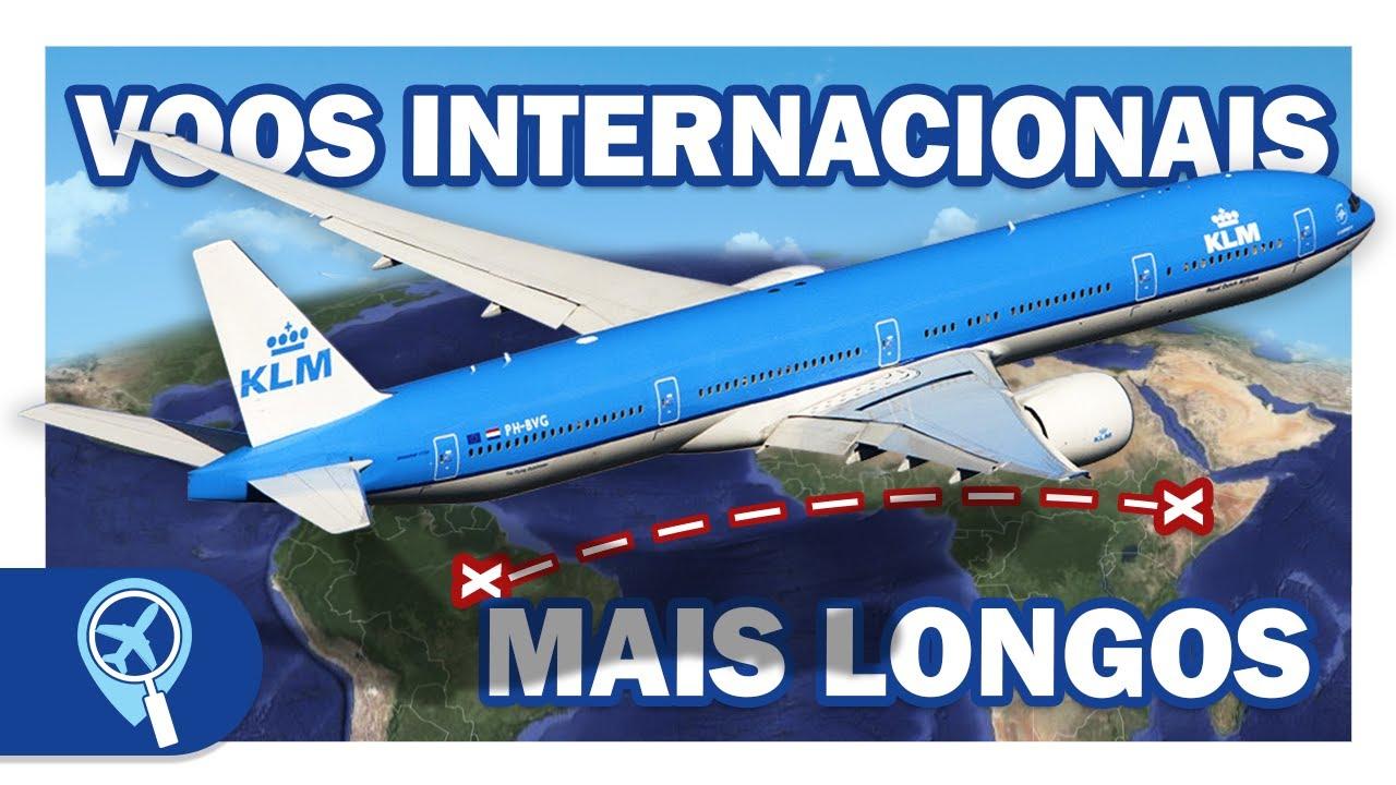 Os 7 voos internacionais mais longos saindo do Brasil em 2020