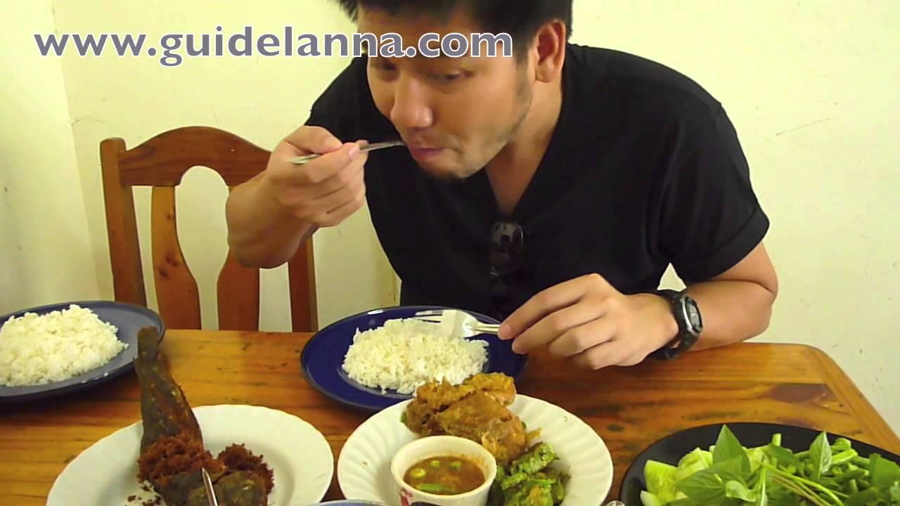 ร้านอาหารแนะนำ ร้านข้าวแกง ปักใต้พัทลุง ที่ อ.เมือง จ.เชียงใหม่อร่อยมากๆ Phatthalung Restaurant